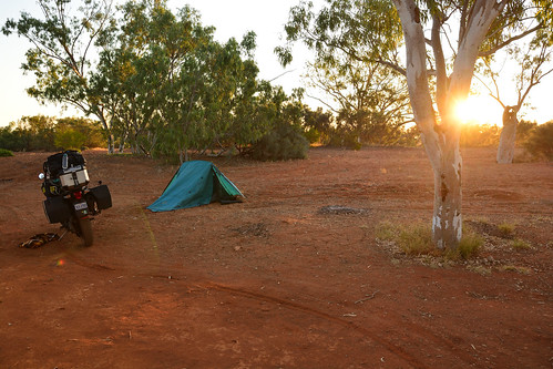 Murchison River campsite