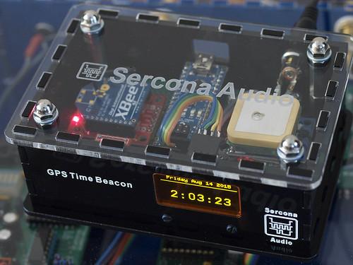 DIY: GPS Arduino Xbee Time-server