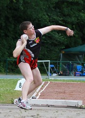 athletics, track and field athletics, sports, shot put, person, athlete,