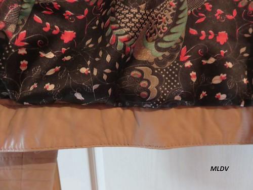 Le blouson en cuir sable Mariane de Verazzano