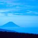 Fuji morning blue by shinichiro*