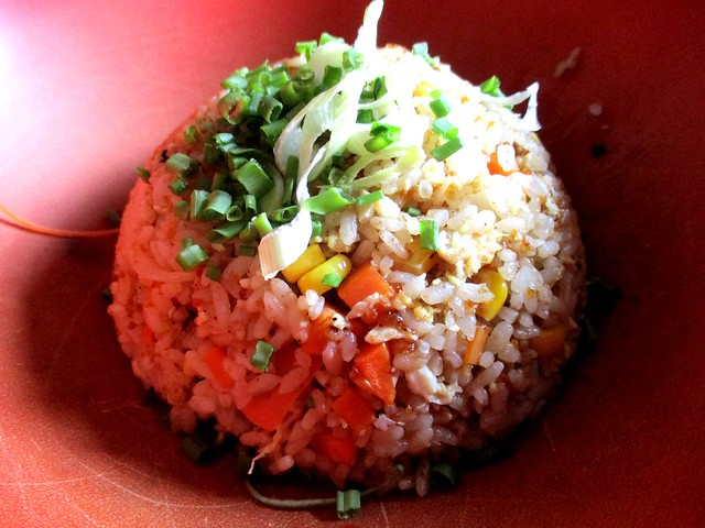 Zen garlic rice