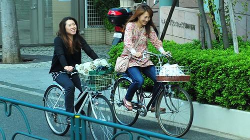 xe đạp ở Nhật