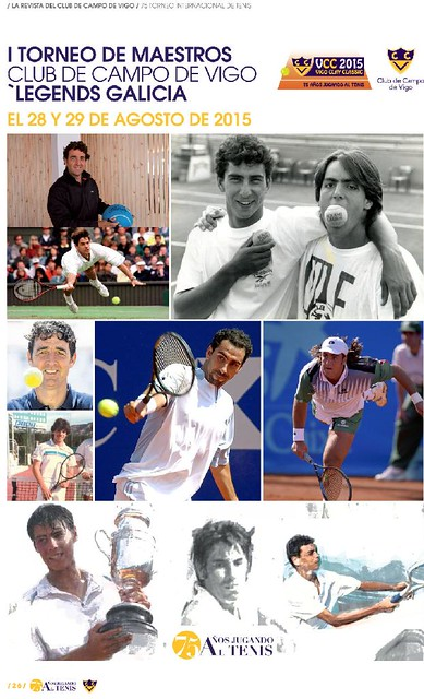 """I Torneo de Maestros - Club de Campo de Vigo """"Legends Galicia"""""""