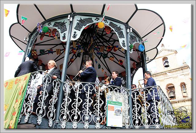 Briviesca en Fiestas 2.015 Recepción en el Ayuntamiento y canto popular del Himno a Briviesca (15)