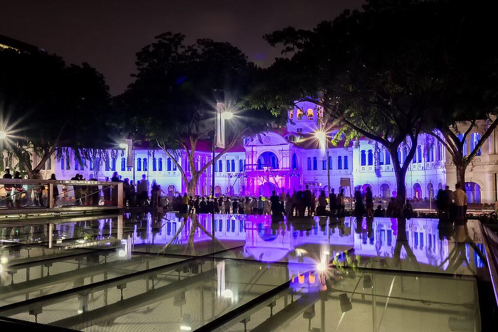 Ночной фестиваль искусств. Singapore Nightfest2015. Starlight Alchemy (Singapore).