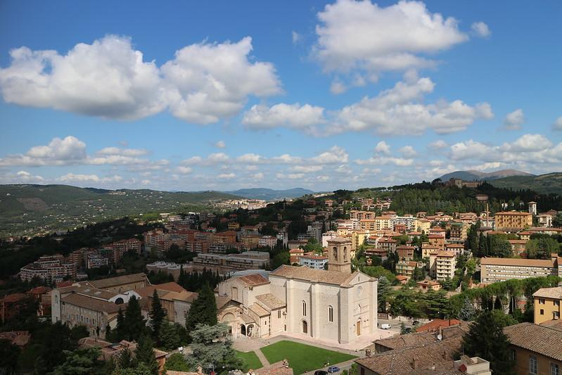 Vista dalla Torre degli Sciri (Perugia)