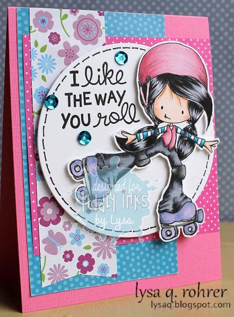 Skater girl pink