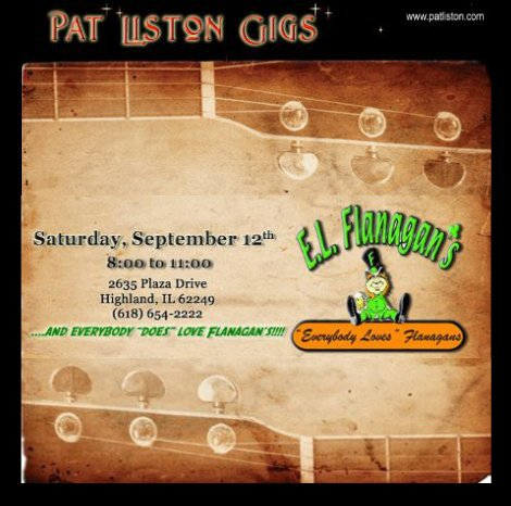 Pat Liston 9-12-15