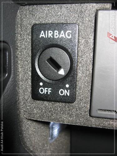 70944 - Instalacja przełącznika deaktywacji poduszki pasażera AIR BAG OFF - 6