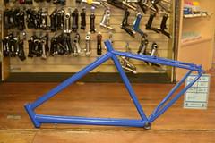 """19"""" Blue Mystery Bike $45"""