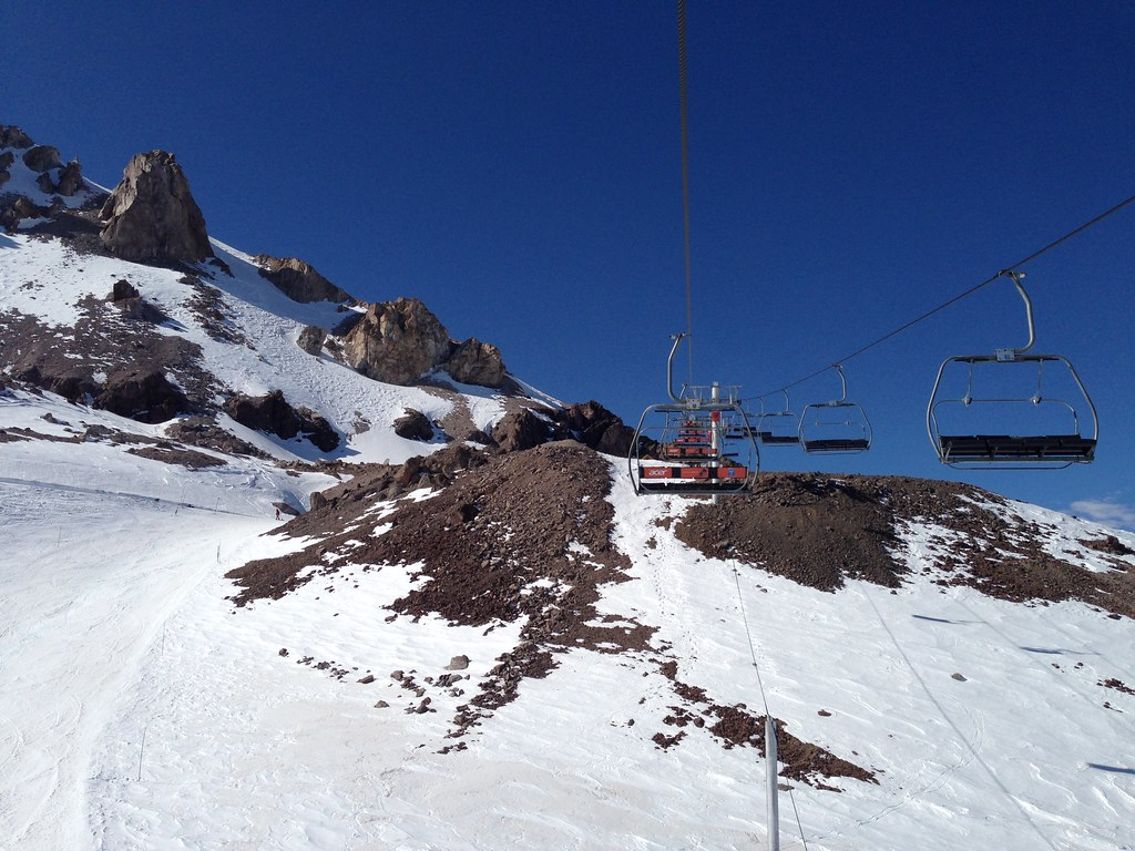 Chairlift over Barros Negros