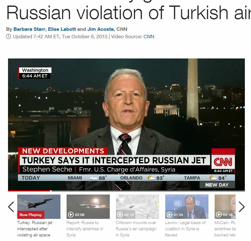 turkey sad it intercepted russian jet