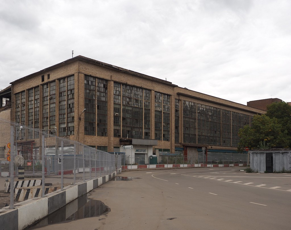 Former ZIL plant territory in Moscow