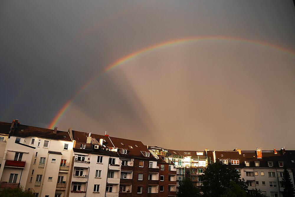 Düsseldorf sateenkaari