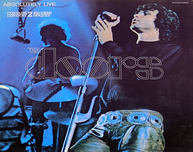 "DOORS Absolutely Live 2LP Red Label Gatefold 12"" DLP VINYL"