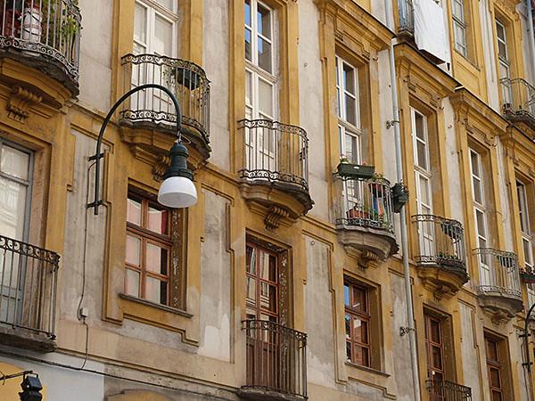 façade et balcons