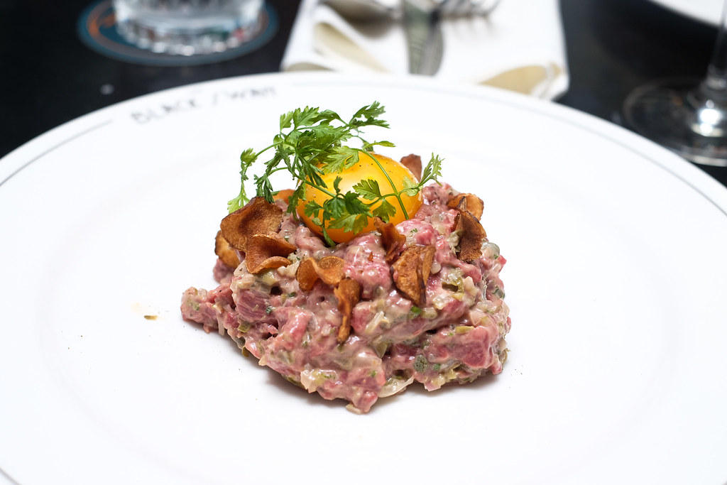 The Black Swan's Steak Tartare