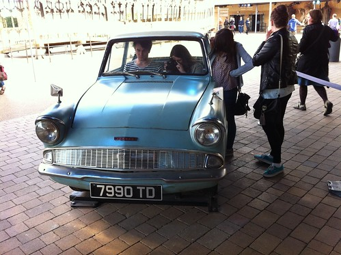 Mr. Weasley's Ford Anglia