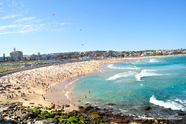 View of Bondi Beach Australia