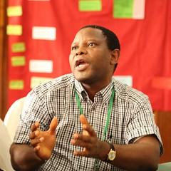 Augustine Ayantunde (ILRI) (Photo credit: IITA / Jonathan Odhong').
