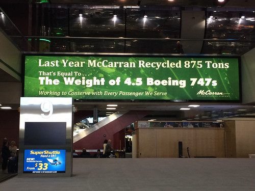 Recycling at McCarran Airport