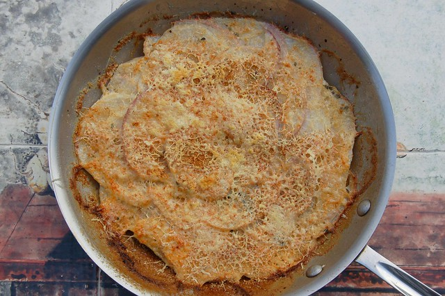 Turnip gratin by Eve Fox, Garden of Eating blog copyright 2010