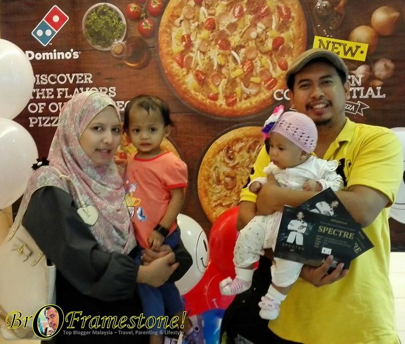 James Bond - Spectre Domino`s Pizza Tropicana City Mall