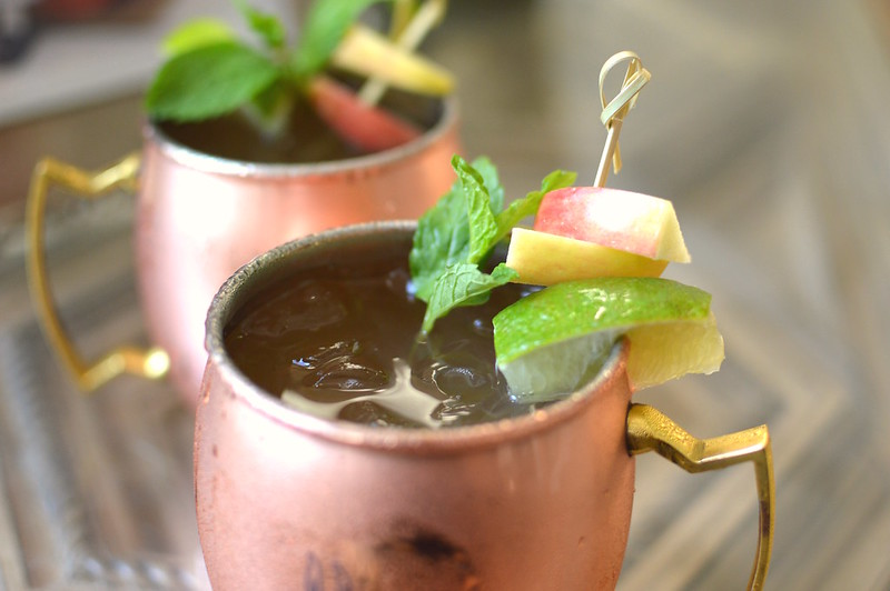 Apple Moscow Mule