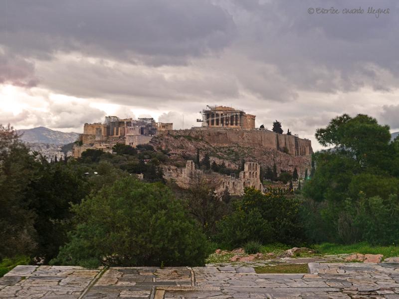 Vustas a la Acrópolis desde la Colina de Filopapo