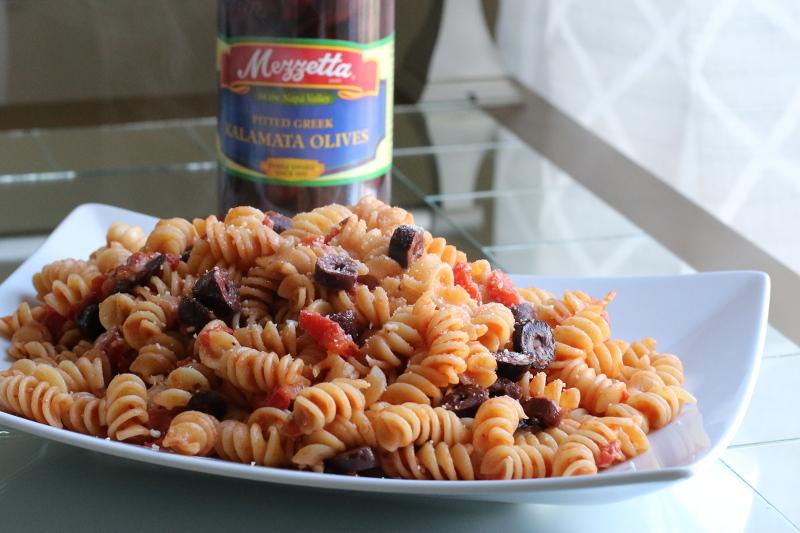 Tomato-Olive-Rotini-Pasta-recipe-7