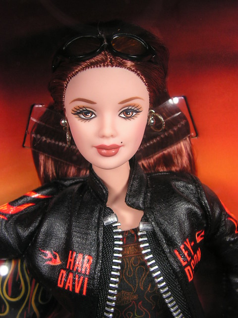 2000 Barbie Harley Davidson Motor Cycles 5th in series 29207 (1)