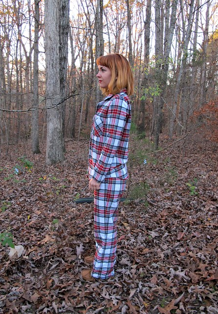 Flannel Carolyn PJs - side