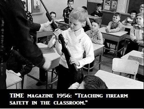 Safety in the classroom.