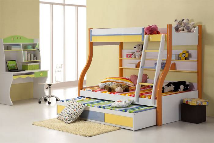 Citris Flavored Kid Bedroom
