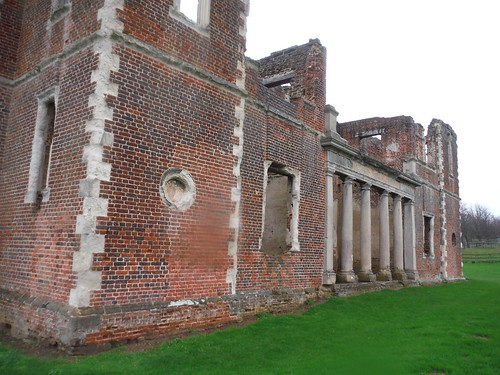 Houghton House, side view