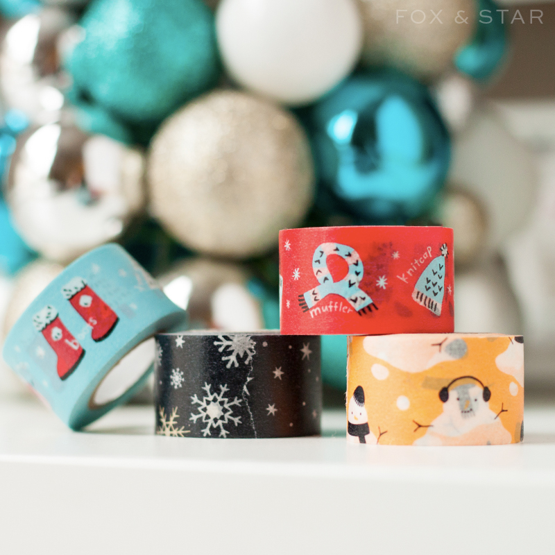 masté winter washi tape series