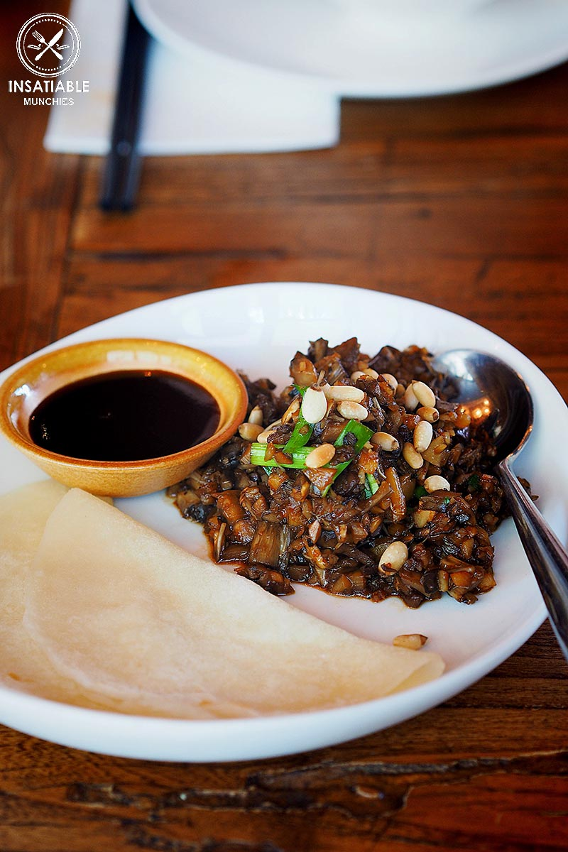 Mixed wild mushroom pancake, $10. The Rice Den, St Leonard's: Sydney Food Blog Review
