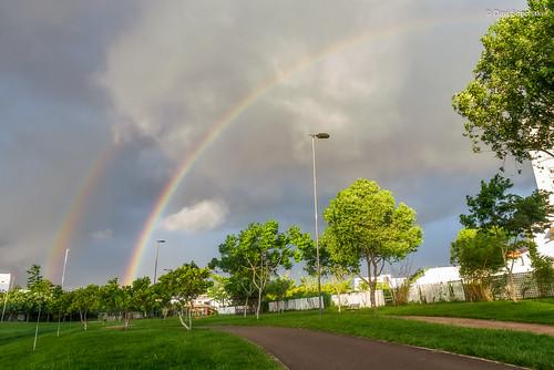 Arco-íris duplo - Rio Branco, Acre, Brasil (Double rainbow - Rio Branco, Acre, Brazil)