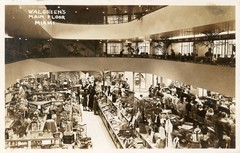 Interior Of Walgreens Drug Store Downtown Miami Built 1936