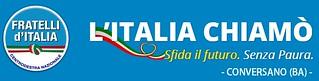 Conversano-Fratelli d'italia Alleanza Nazionale organizza un incontro per parlare dei poteri forti