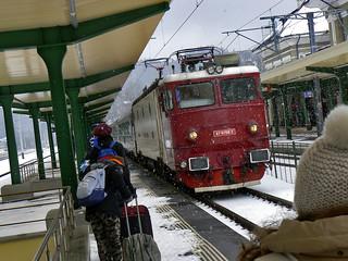 Estación de tren de Siania, Rumanía
