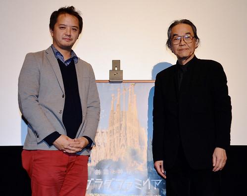 光嶋裕介氏(左)と入江正之氏(右)