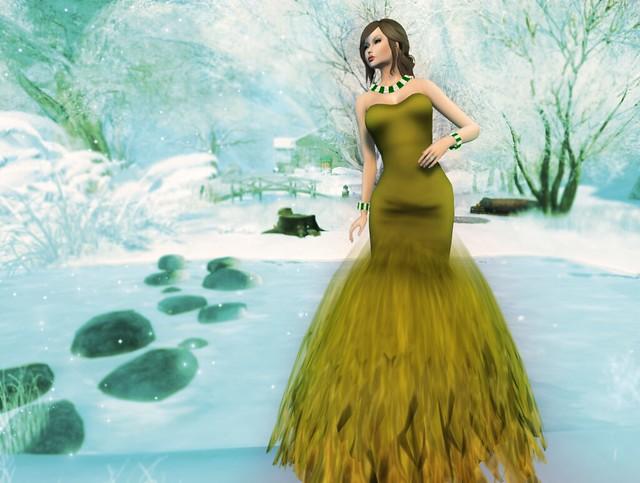 *FLOWERDREAM CREATION Ella olive New&99Loffer