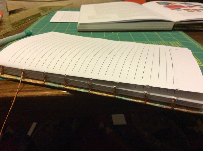 Bookbinding: Coptic stitch