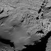 Comet from 8.9 km narrow-angle camera