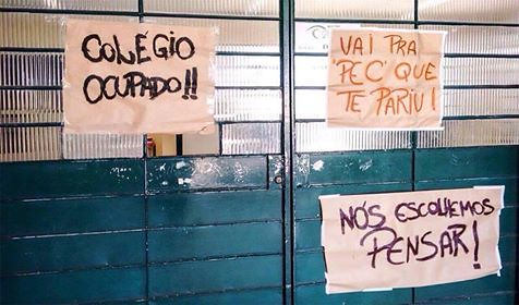 """El movimiento, apodado de """"Primavera Secundarista"""", crece a lo largo y ancho del país - Créditos: Reproducción"""