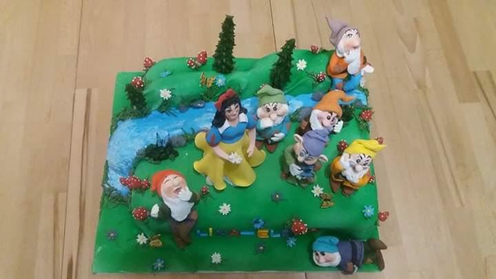 Snow White and the Seven Dwarves by Maria Barna of Mary Sweet