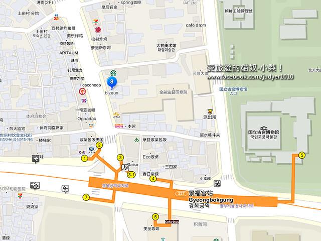 景福宮地圖