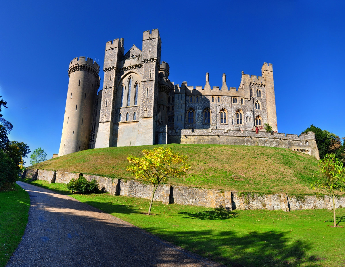 Arundel Castle on a sunny October day. Credit Gregg M. Erickson